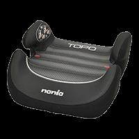 NANIA Podsedák Topo Comfort Graphic Black, 15-36 kg