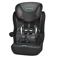 NANIA Autosedačka I-MAX SP Graphic Tech, 9-36 kg